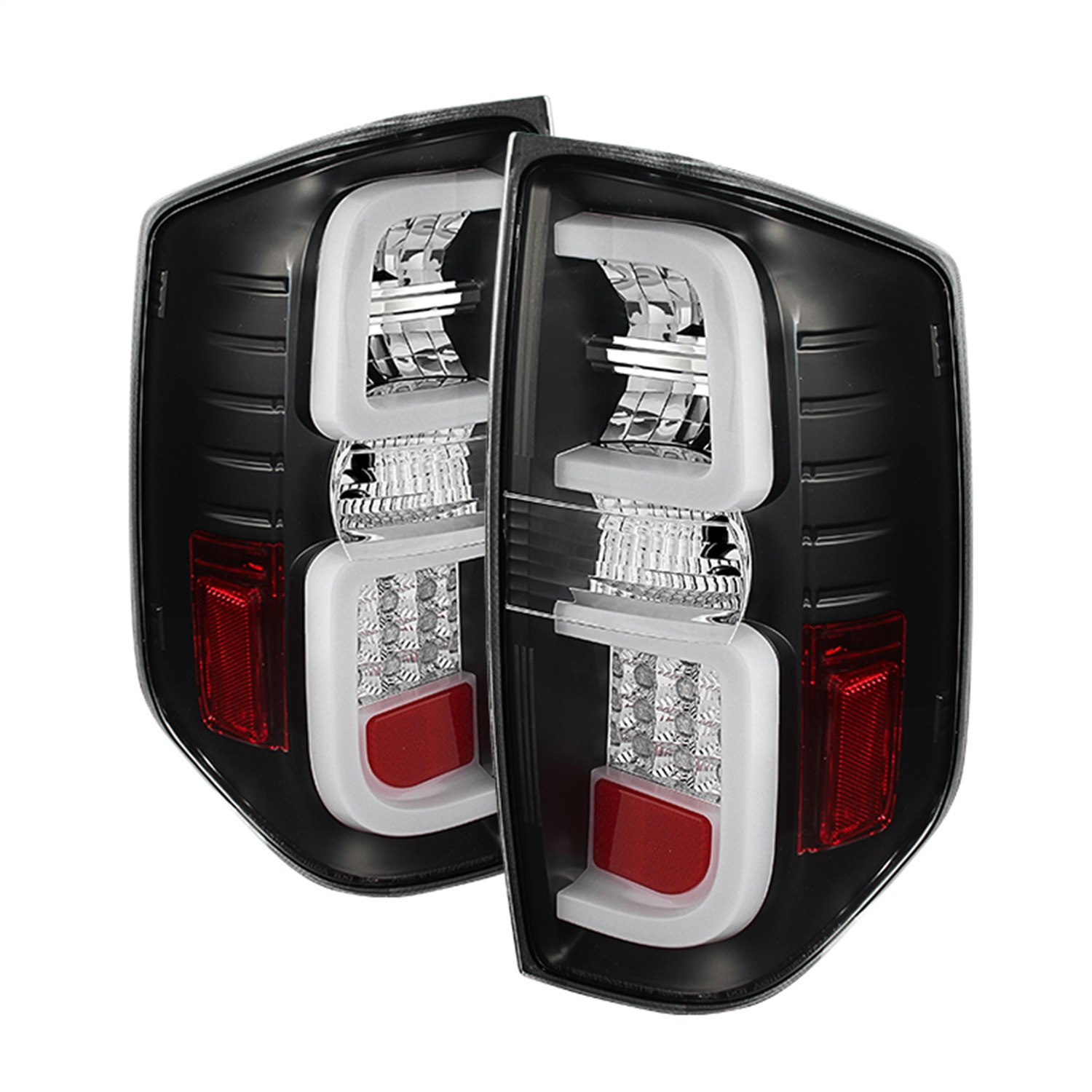 Spyder Auto 5080196 Light Bar LED Tail Lights Fits 14-18 Tundra