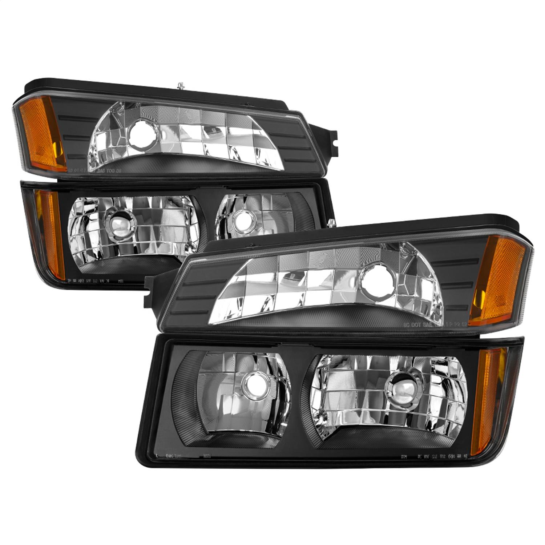 Spyder Auto 9040641 XTune Headlights Fits 02-06 Avalanche 1500 Avalanche 2500