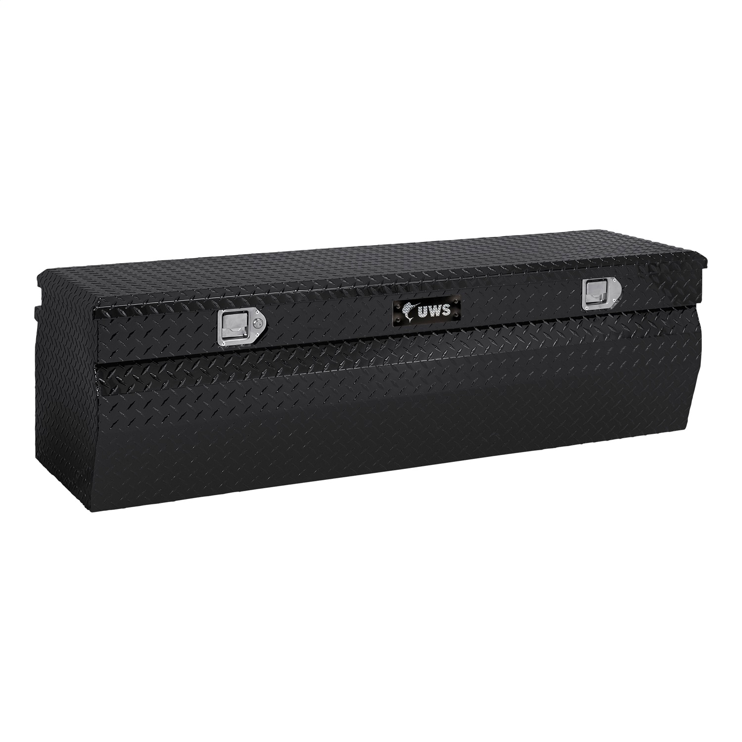 Chest Box Wedge, L 60 in. x W 20 in. x H 17.25 in., Black