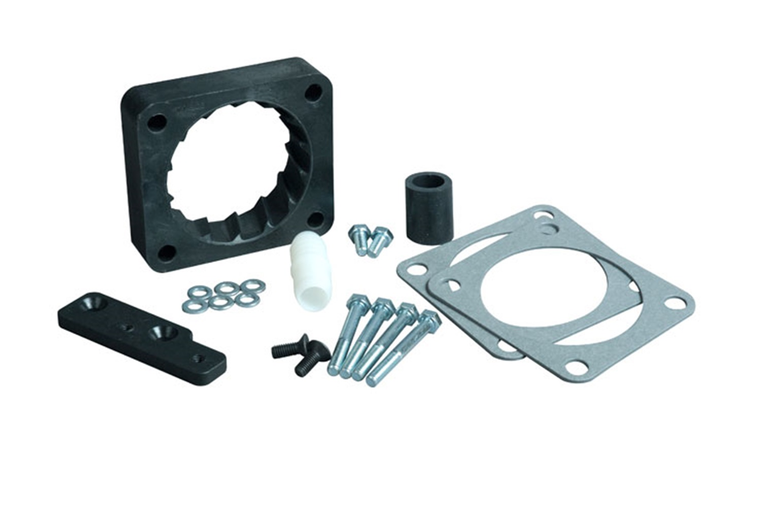 Volant Performance 729846 Vortice Throttle Body Spacer Fits 99-04 Mustang