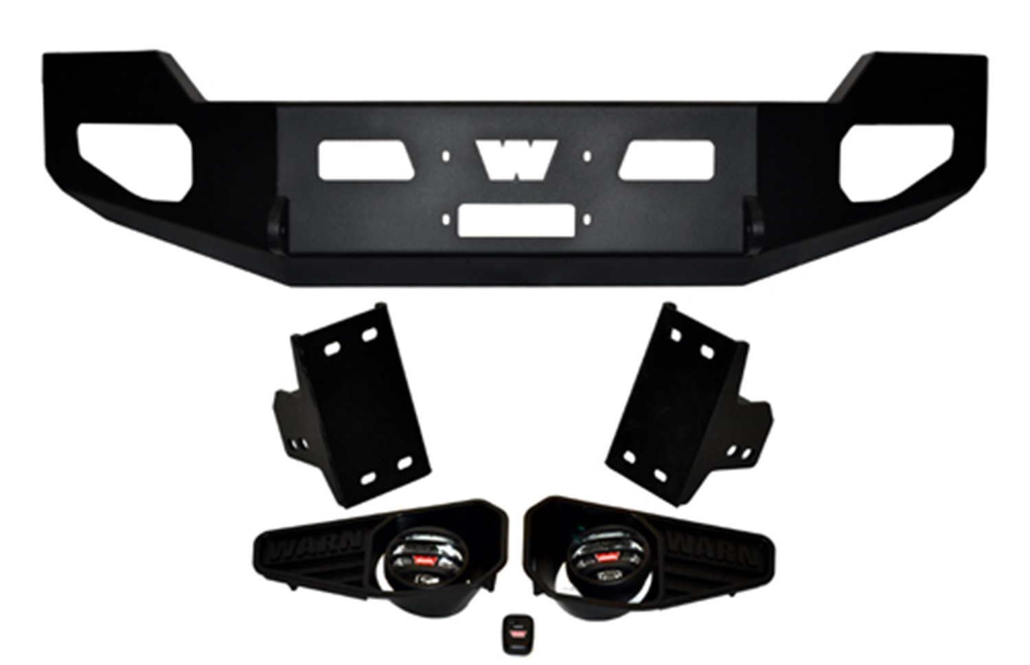 Warn 85881 Heavy Duty Bumper