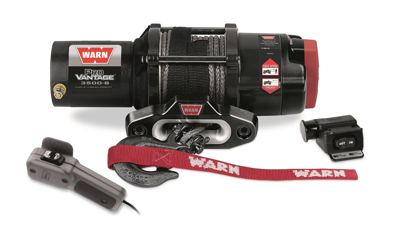 Warn 90351 Warn 90351 ProVantage 3500-S Winch Fits 15-L ALL SXS500M2 Pioneer 500