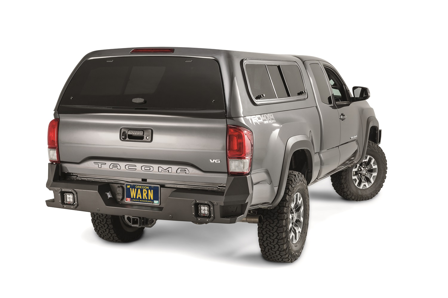 Warn 98054 Ascent Rear Bumper Fits 16-18 Tacoma