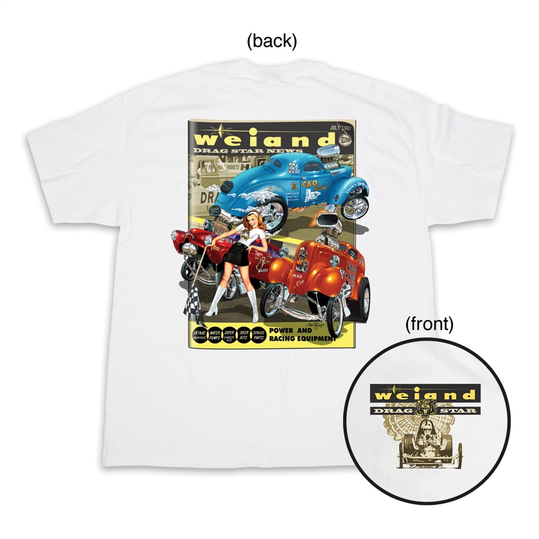 Weiand 10008-XXLWND Weiand Drag Star T-Shirt