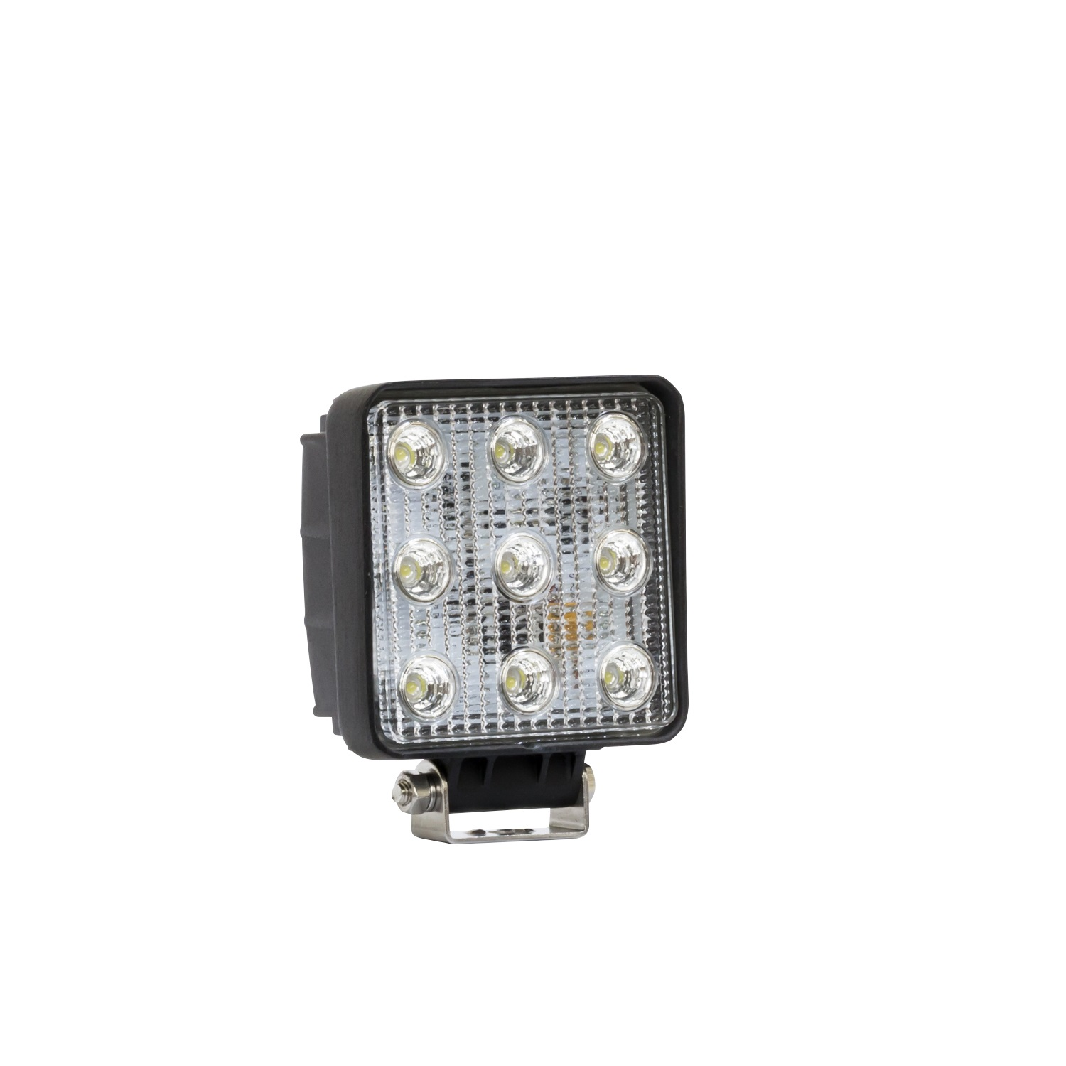 LED Work Light, 4.6 x 5.3 in., Square, Flood, Incl. Light/Mounting Hardware