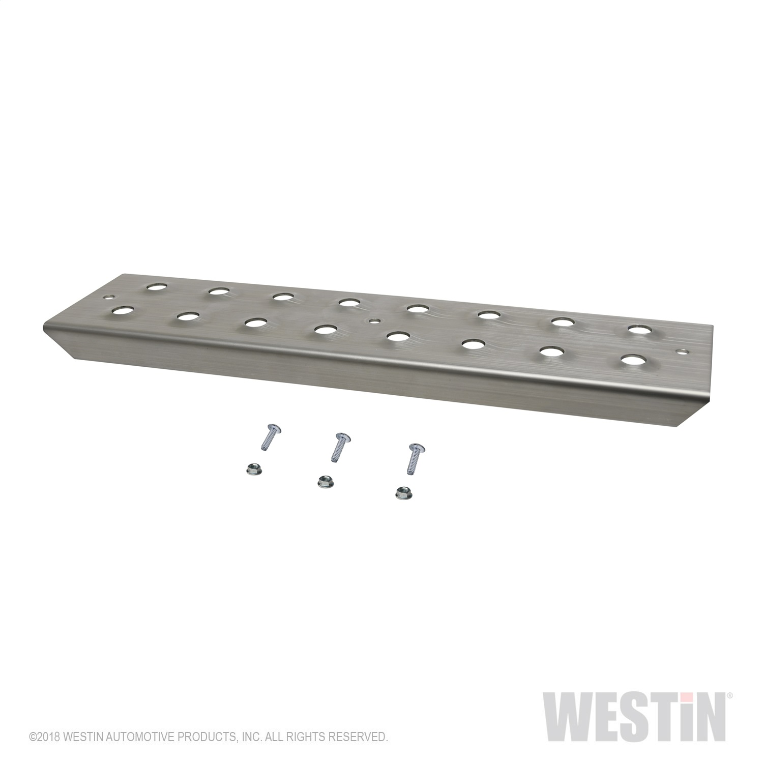 Westin 56-100015 HDX Stainless Drop Step Plate Replacement Kit