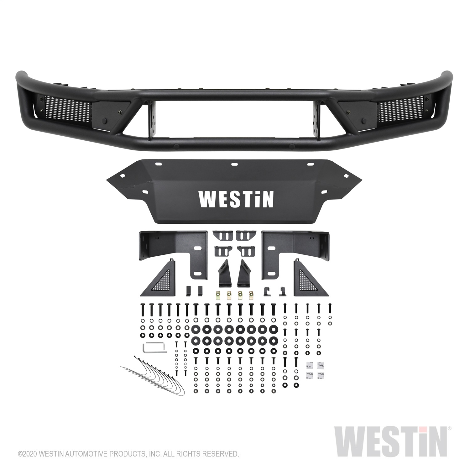 Westin 58-61085 Outlaw Front Bumper Fits 19 Ranger