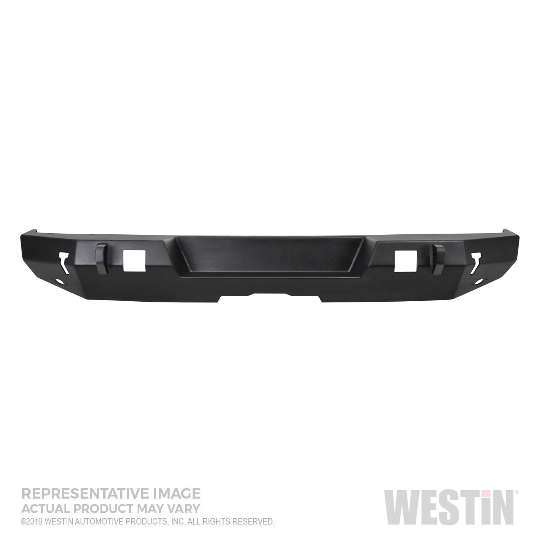 Westin 59-82065 WJ2 Rear Bumper w/ Tire Carrier Fits 20 Gladiator