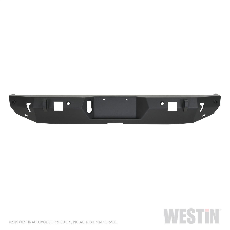Westin 59-82075 WJ2 Rear Bumper w/ Tire Carrier Fits 20 Gladiator