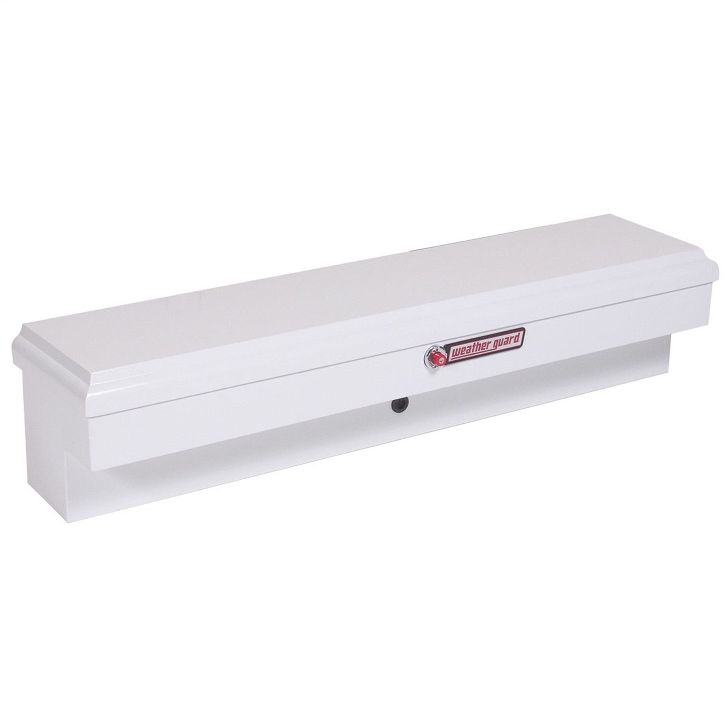Lo-Side Box, Standard, 4.5 ft., Height 12.88 in., Length 60.38 in., Width 13.63 in., White, Heavy Duty Welded, Steel