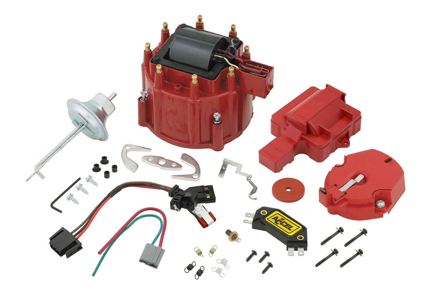 ACCEL 8200ACC TUNE UP KIT,GM HEI RED