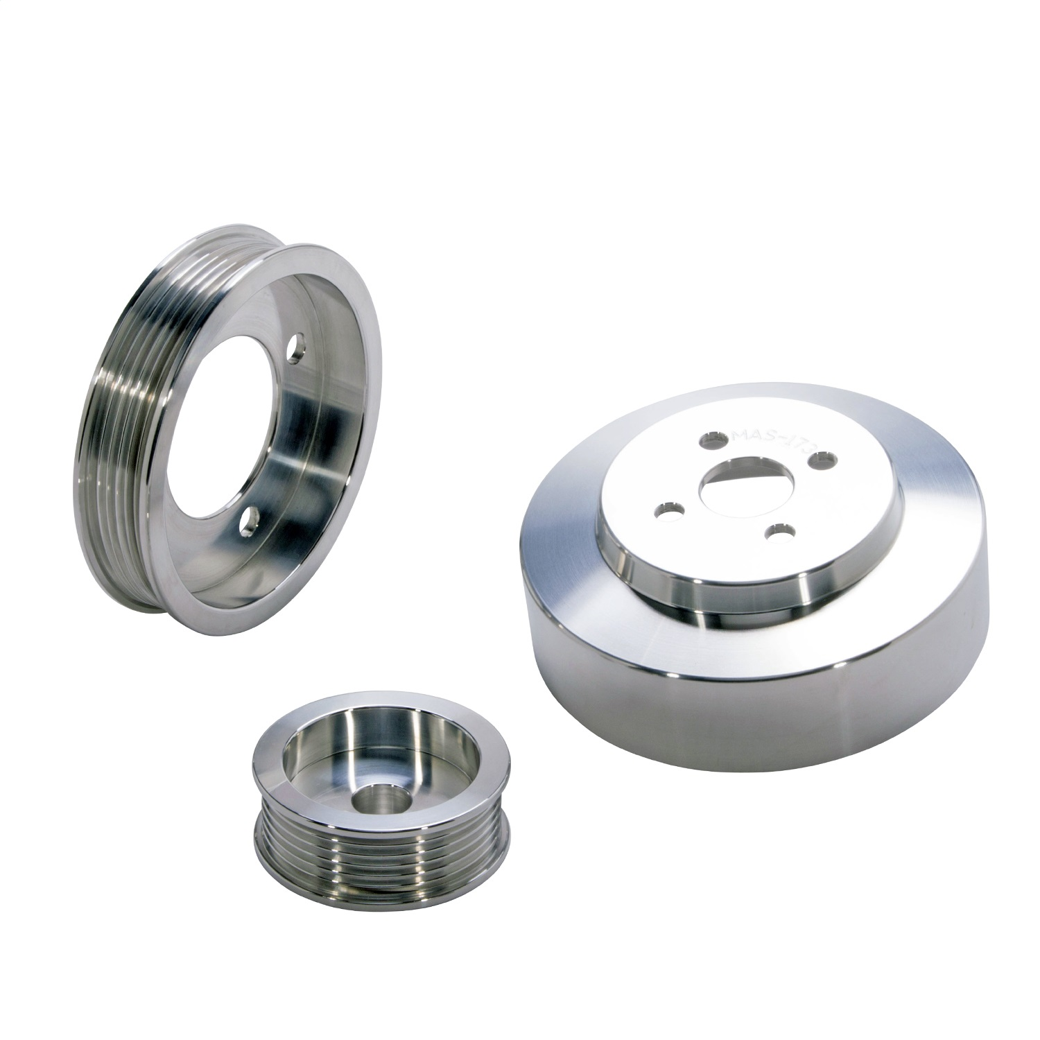 BBK Performance Parts 1554 Power-Plus Series Underdrive Pulley System