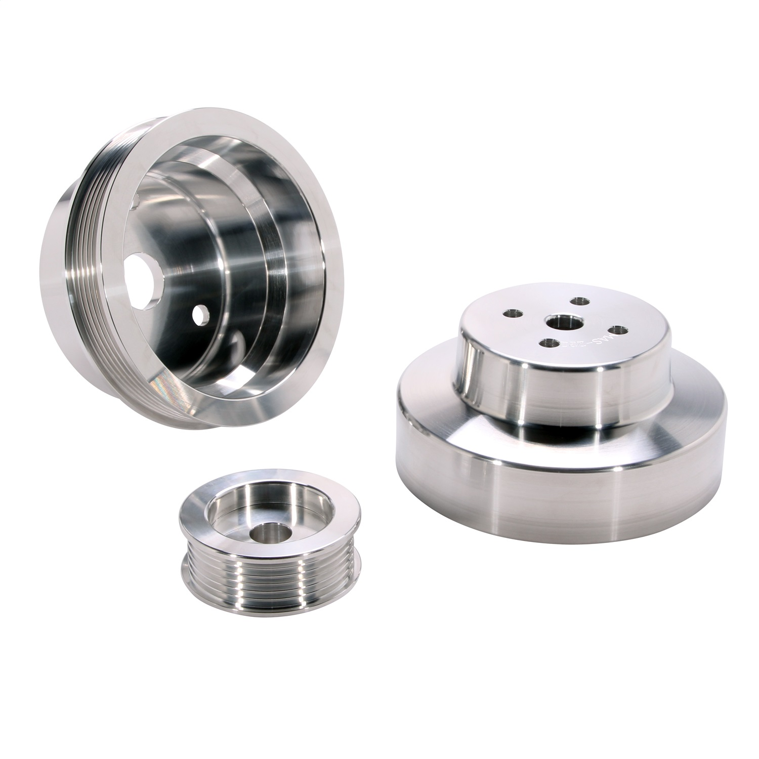 BBK Performance Parts 1603 Power-Plus Series Underdrive Pulley System