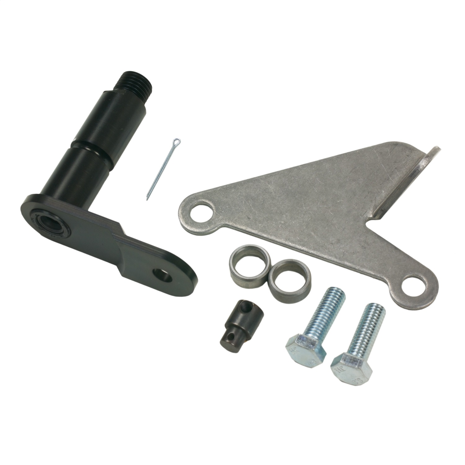 B&M 40496 BRACKET AND LEVER KIT AOD