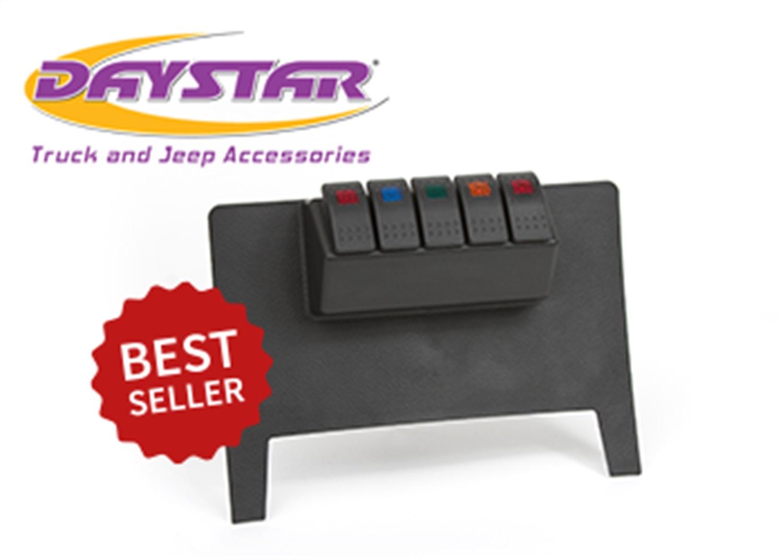Daystar KJ71034BK Switch Panel