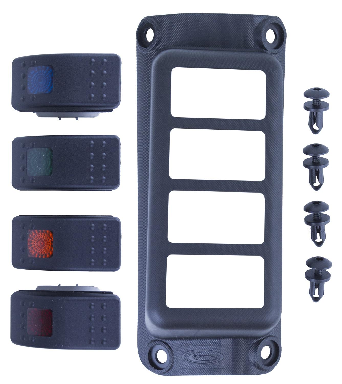 Daystar KJ81001BK A-Pillar Switch Pod
