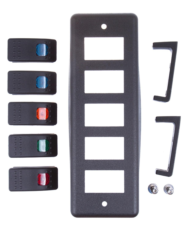 Daystar KU72004BK Roll Bar Mount Switch Pod