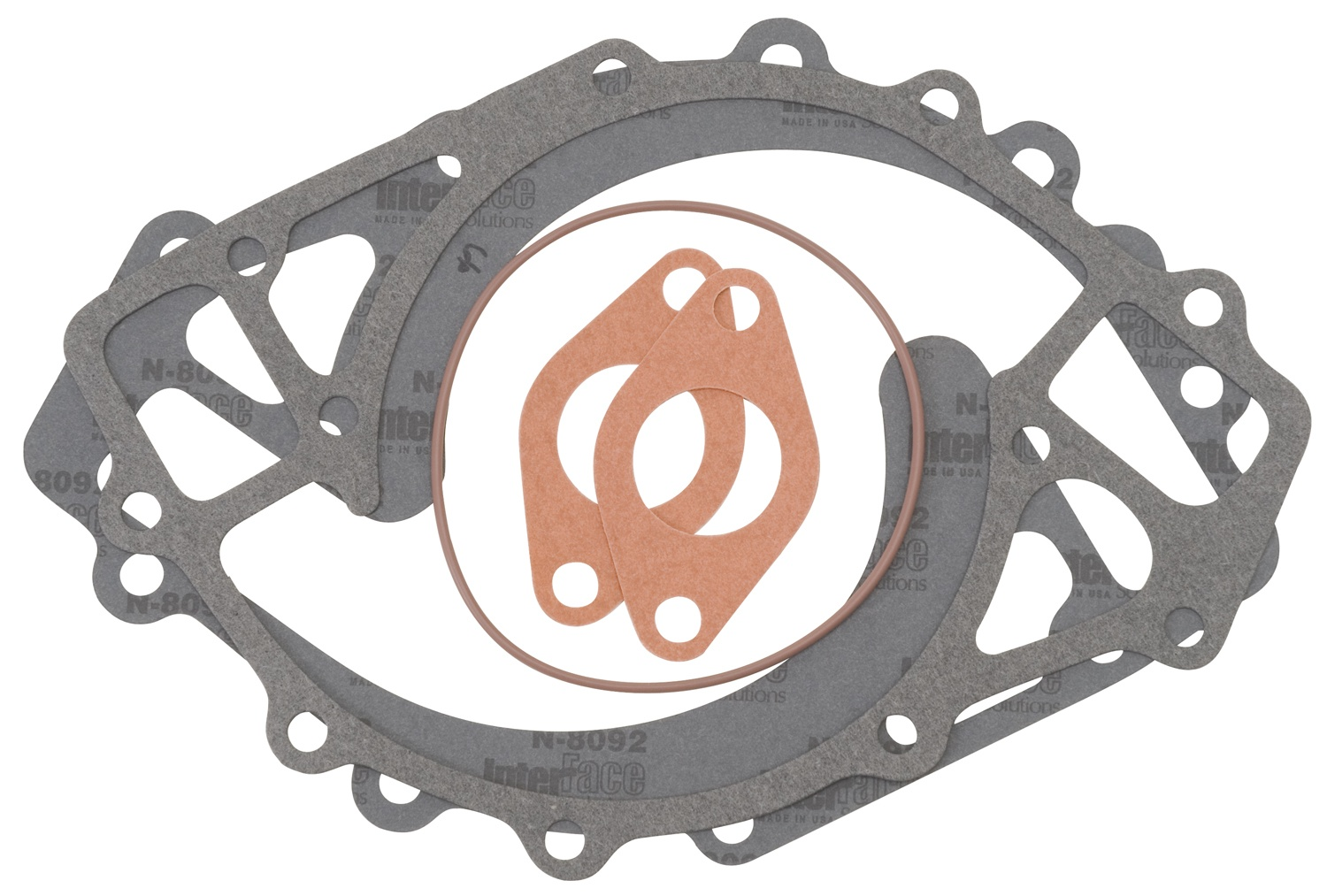Edelbrock 7258 WP GASKET KIT FORD BBF & FE