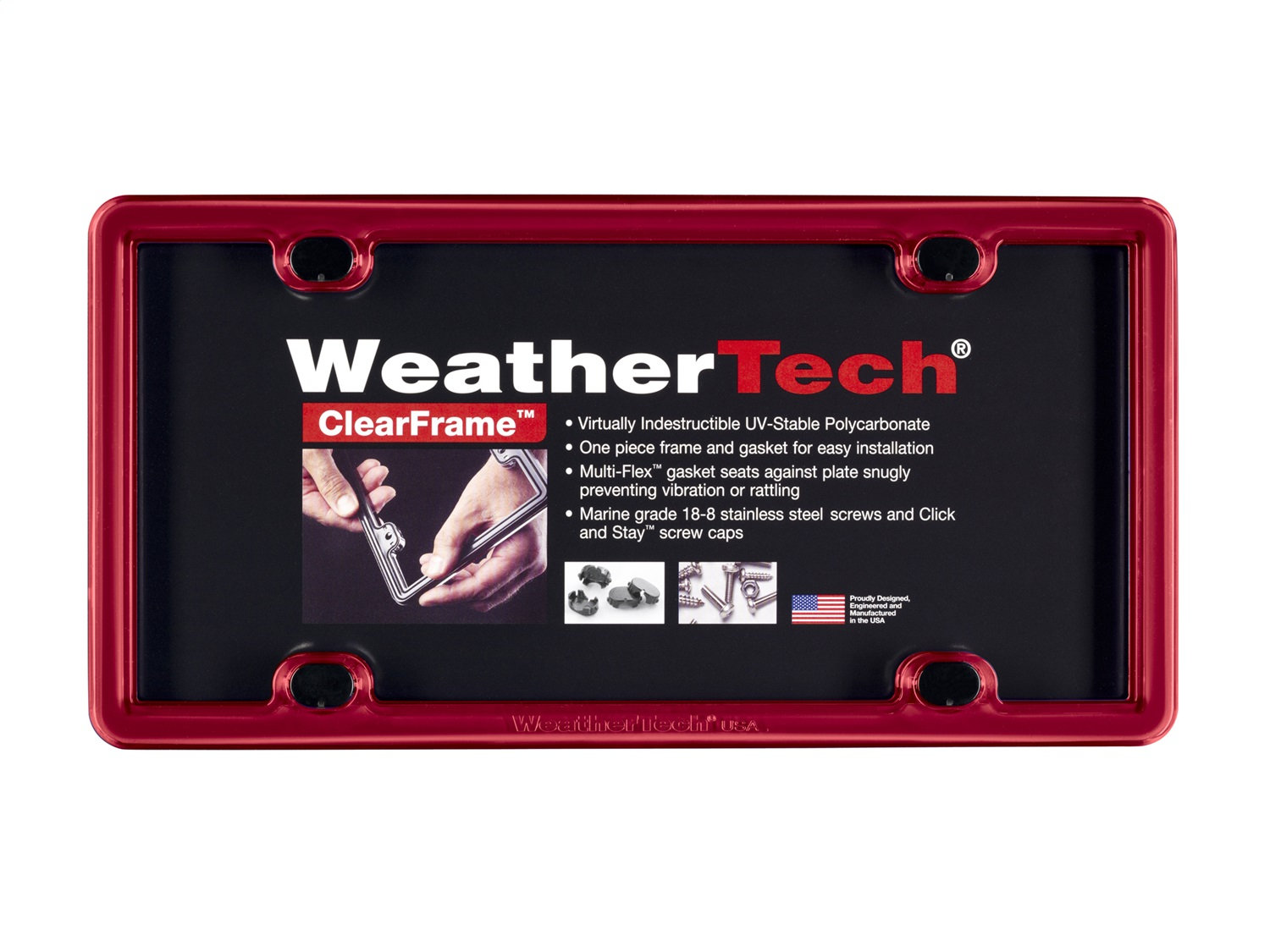 WeatherTech 8ALPCF1 Accessory, Red