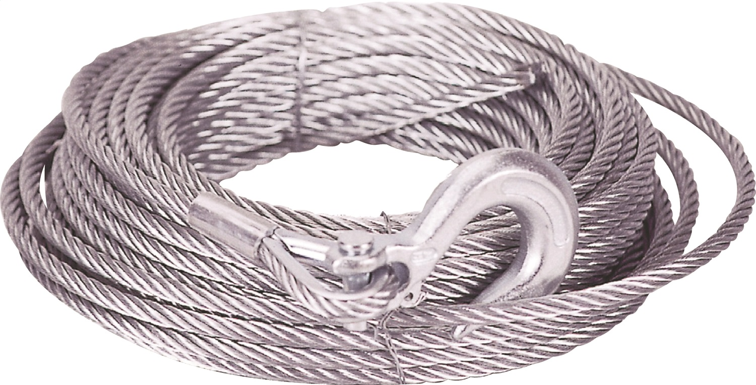 Mile Marker 19-50010C 5/16in. x 100 ft. Cable/Hook